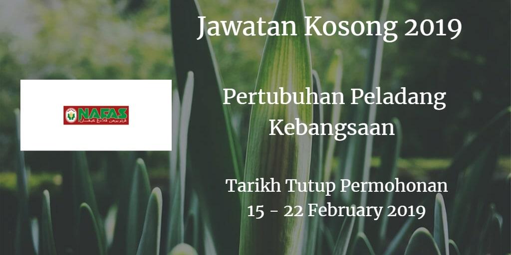 Jawatan Kosong Nafas 15 - 22 February 2019