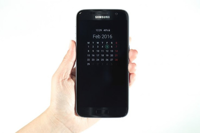 samsung s7 Always-on display