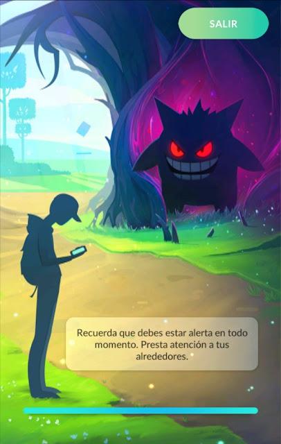 Pokémon GO muda sua tela de carregamento em comemoração ao Halloween.