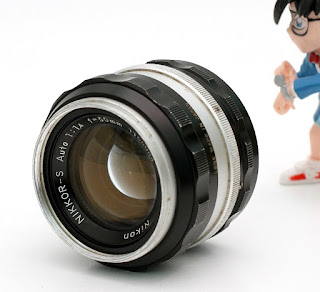 Nikon 50mm f1.4 manual