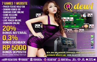 New Game Super10 Judi Bandar Online QDewi - www.Sakong2018.com