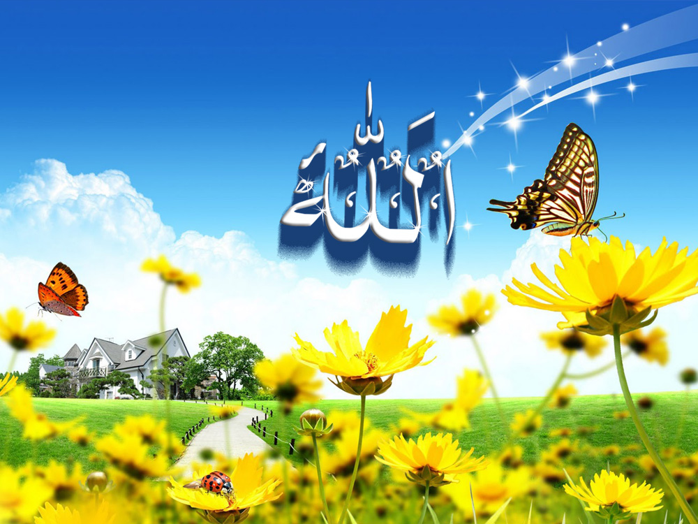 Islamic wallpapers name of allah wallpaper - A and s name wallpaper ...