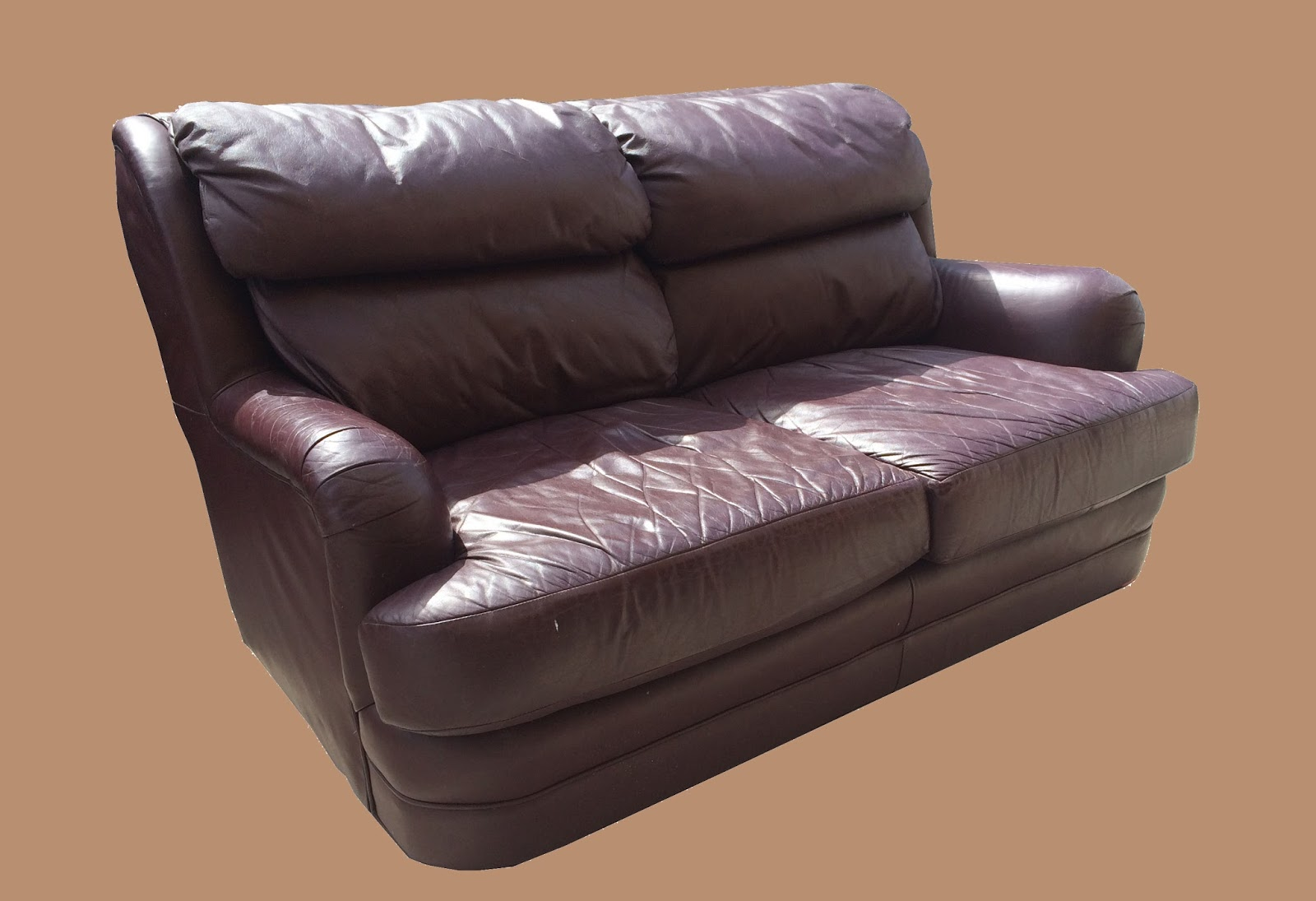 Uhuru Furniture Collectibles Leather Loveseat 135 Sold