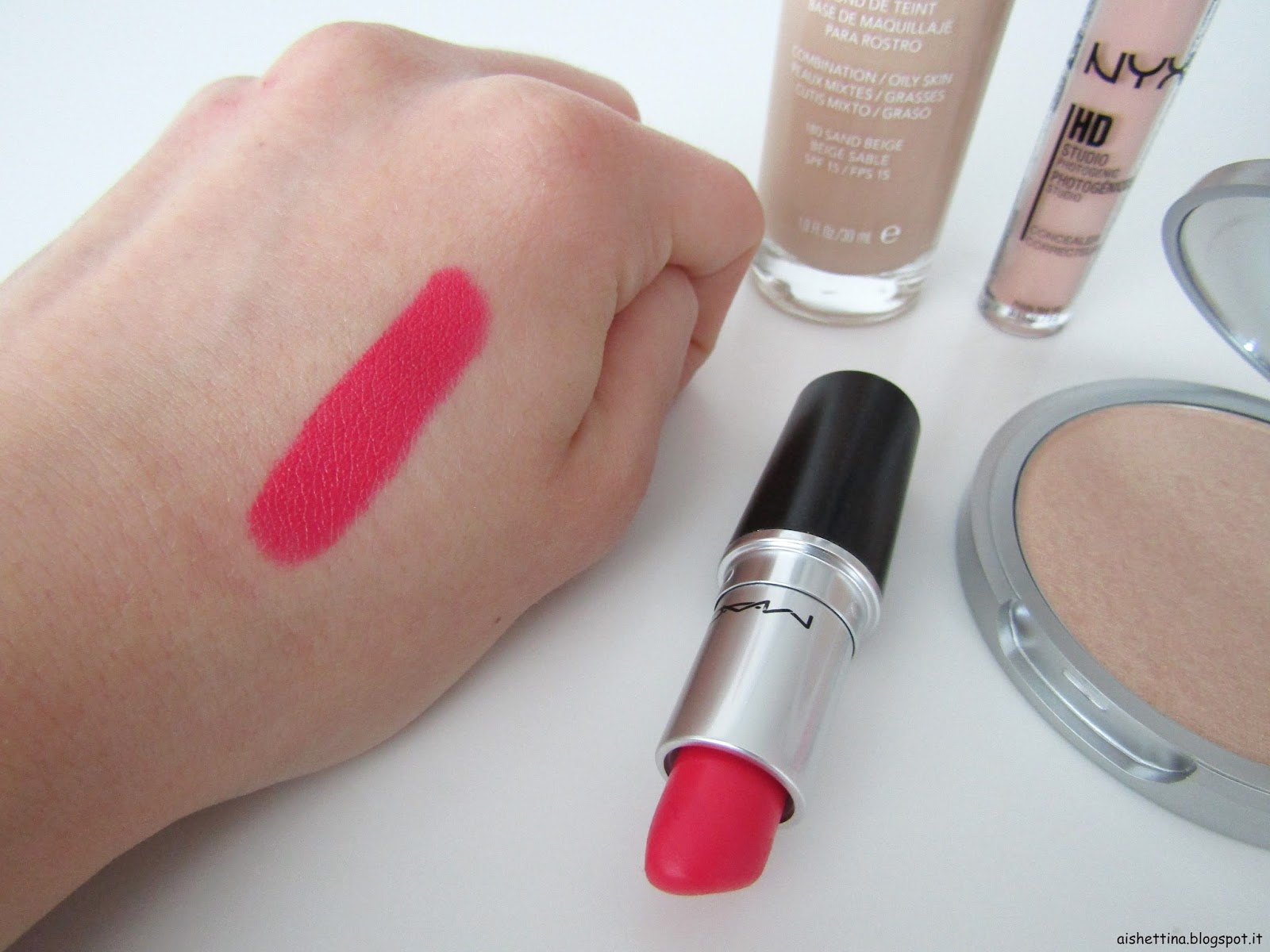 impassioned lipstick mac