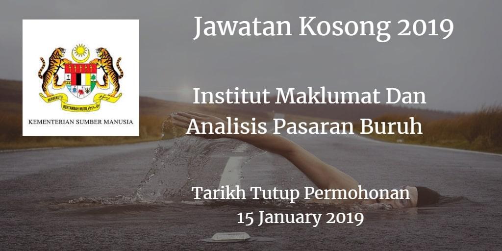 Jawatan Kosong ILMIA 15 January 2019