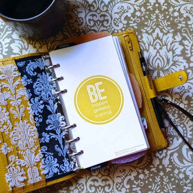Filofax Friday | Be Happy Download | iloveitallwithmonikawright.com