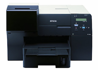 quality text message amongst the same toll per site every bit a mono Light Amplification by Stimulated Emission of Radiation beam printer Epson B310N Drivers Download