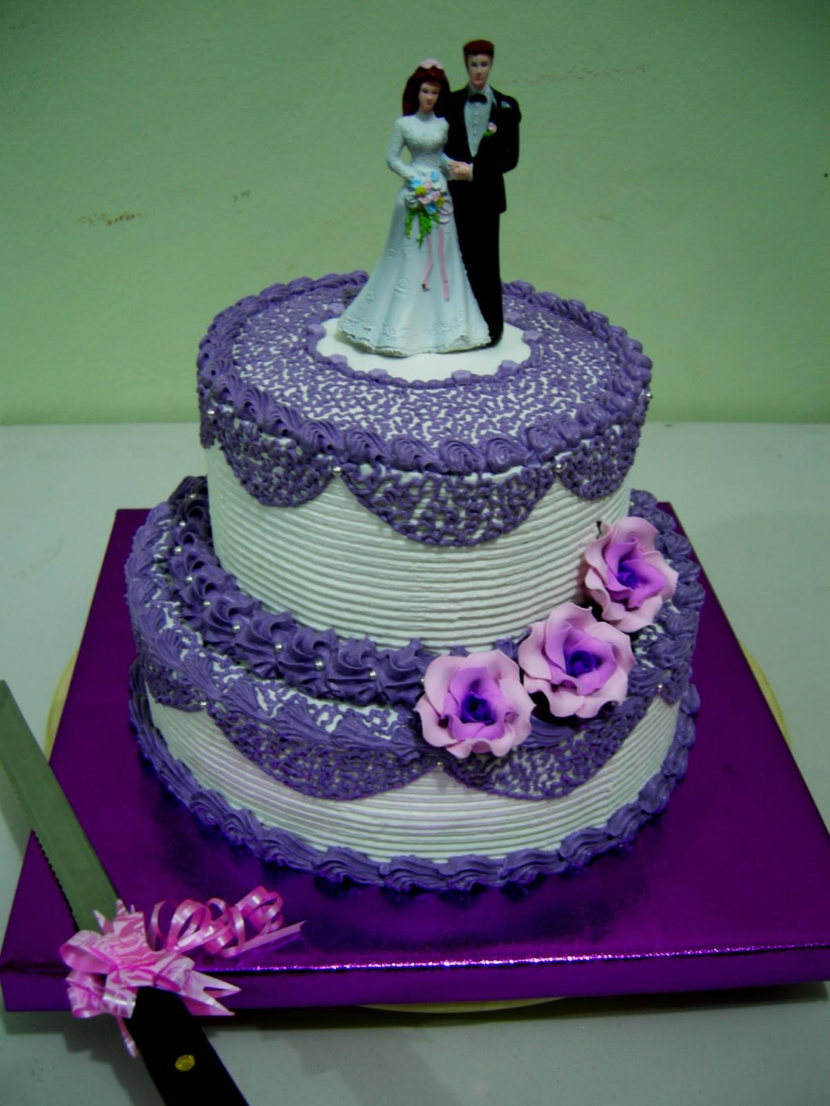 Toko Kue Bolu Enak Wedding Cake Plus Rak