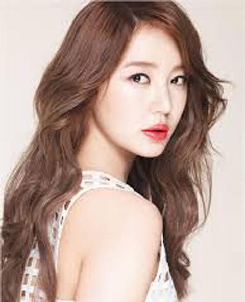 model rambut panjang korea orang gemuk