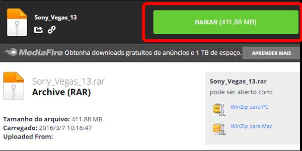 Download sony vegas crackeado portugues 64 bits gratis