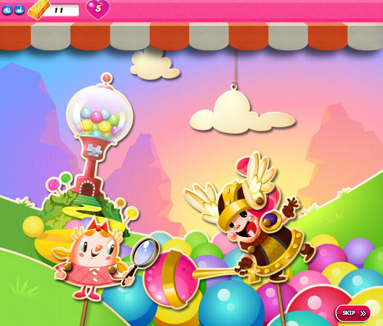 Candy Crush Saga level 2196-2210