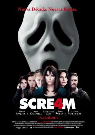 Scream 4 2011 BluRay 800MB Hindi Dual Audio 720p Watch Online Full Movie Download bolly4u
