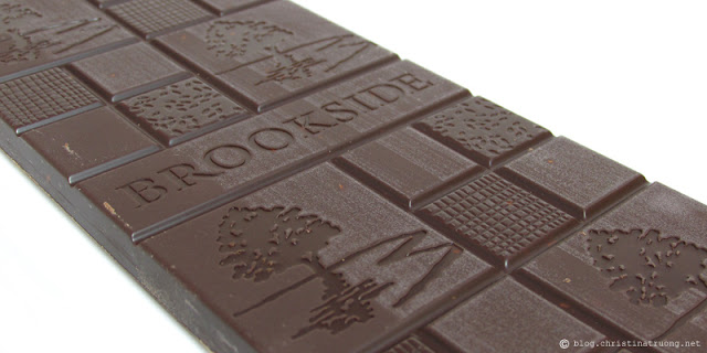 Brookside Chocolate Tablet Bars Review
