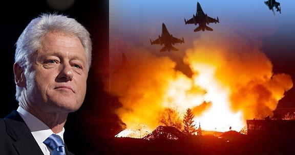 Image result for bill clinton yugoslavia war images