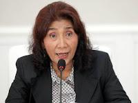 Jawab Kelakar 'Reshuffle' Prabowo, Susi: Kerugian itu Sebelum Jokowi