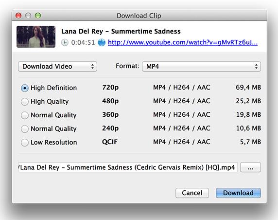descargar reproductor de video 4k para mac