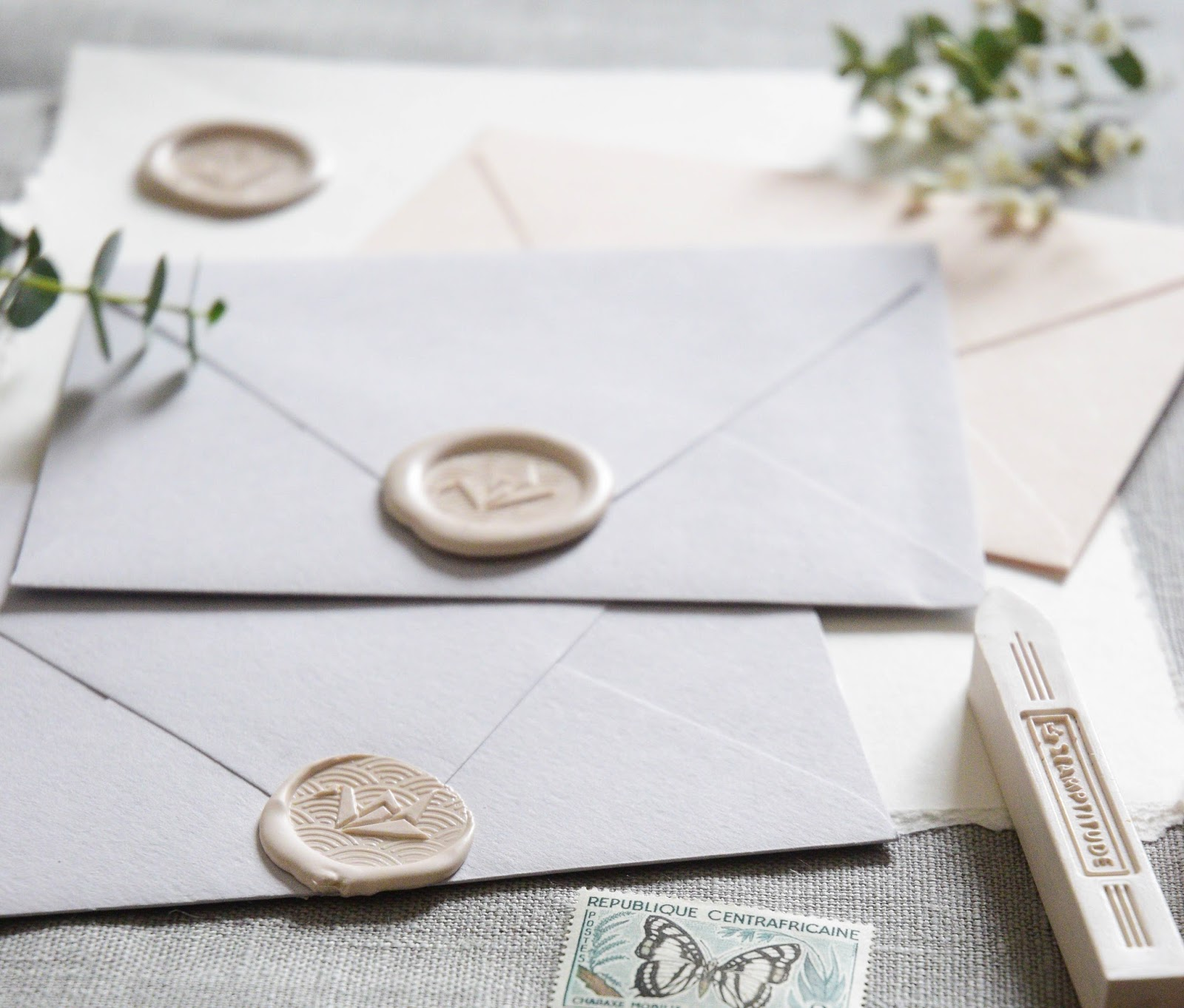 Shayda Campbell: Wax Seals For Invitations