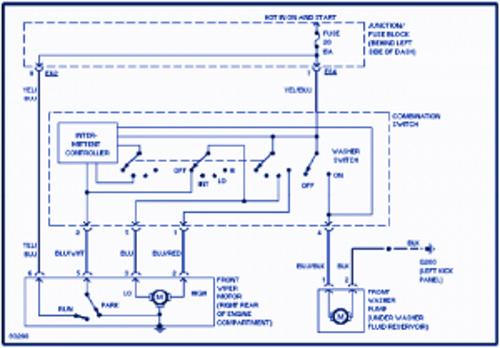 Suzuki Swift 1997 Electrical Wiring Diagram | Auto Wiring