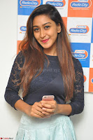 Shravya in skirt and tight top at Vana Villu Movie First Song launch at radio city 91.1 FM ~  Exclusive 169.JPG