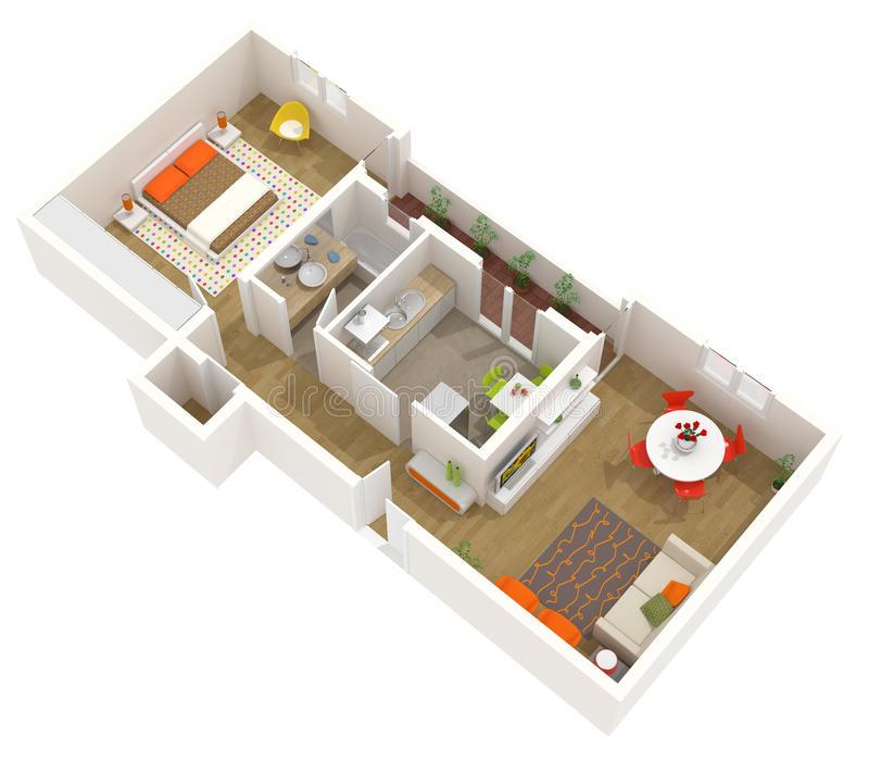 Stylish%2BModern%2BHome%2B3D%2BFloor%2BPlans%2B%252810%2529 Stylish Home 3D Floor Plans Interior