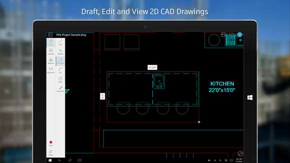 AutoCAD app for Windows 10