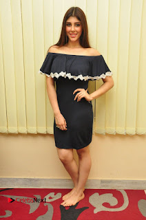 Actress Aditi Singh Pictures in Black Short Dress at tur Talkies 2 Movie Opening  0164.JPG