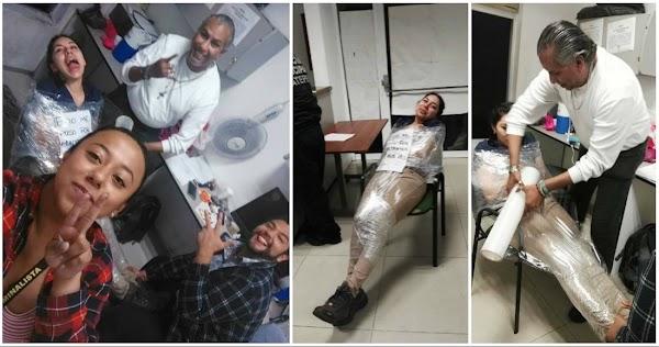 Dos peritos de Ecatepec son despedidos tras la difusión de FOTOS donde juegan en horas laborales