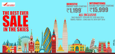 domestic airfares, international airfares