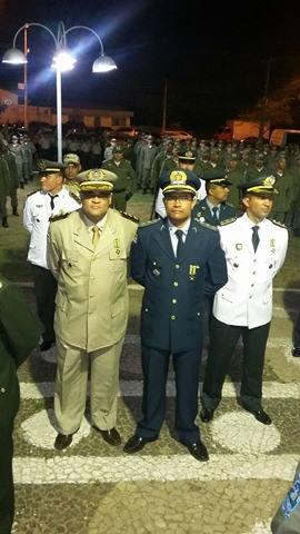 Policia Militar do PI condecora com medalha de mérito oficiais do 16º BPM de Chapadinha