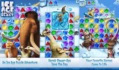 Ice Age Arctic Blast APK MOD- tempo infinito vidas
