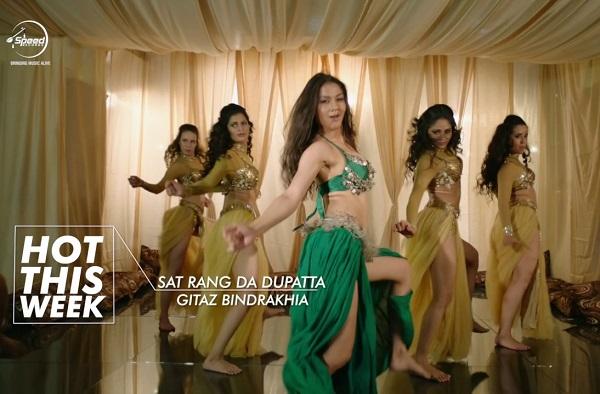Sat Rang Da Dupatta Gitaz Bindrakhia Punjabi Song 2017 Bunty Bains Desi Crew Love Mashup Shuja Gowhar