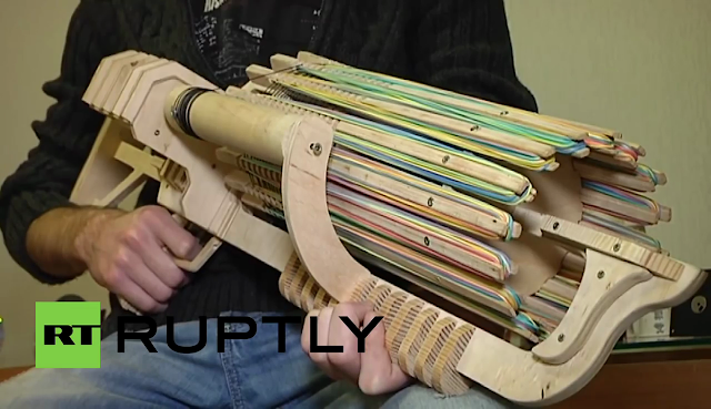 Wooden Machine Gun