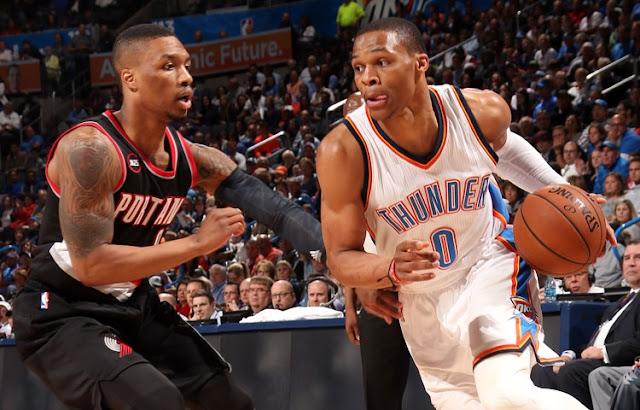 Les deux meneurs devraient amener leurs équipes, OKC et Portland au sommet de la conférence Ouest lors de la saison 2016-2017 de NBA.