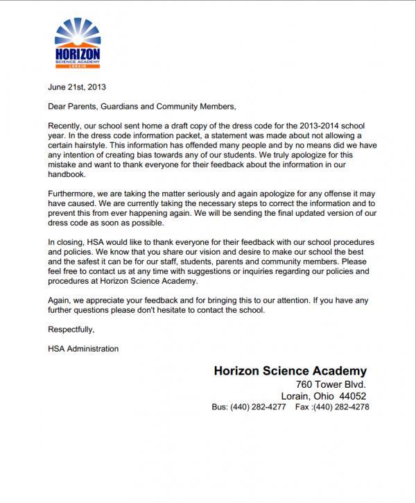 Horizon Parents Truth: Horizon Science Academy dba Concept
