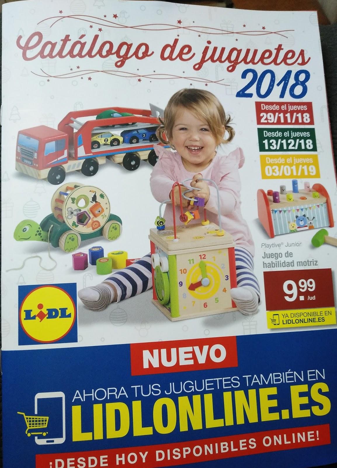 Catálogo de juguetes Lidl 2018.