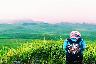 Rute Menuju Bukit Teletubbies Blitar Jawa Timur