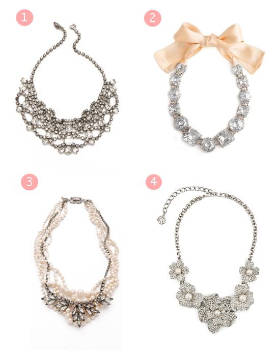 Bigiotteria per la sposa, statement necklace, collana per la sposa, gioielli per la sposa