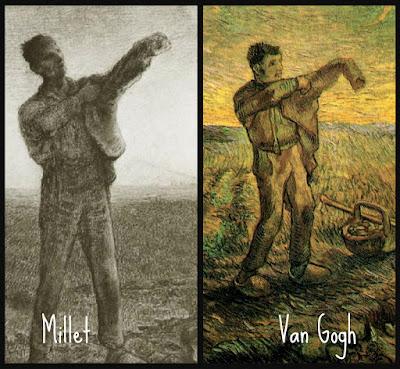 Millet, Van Gogh