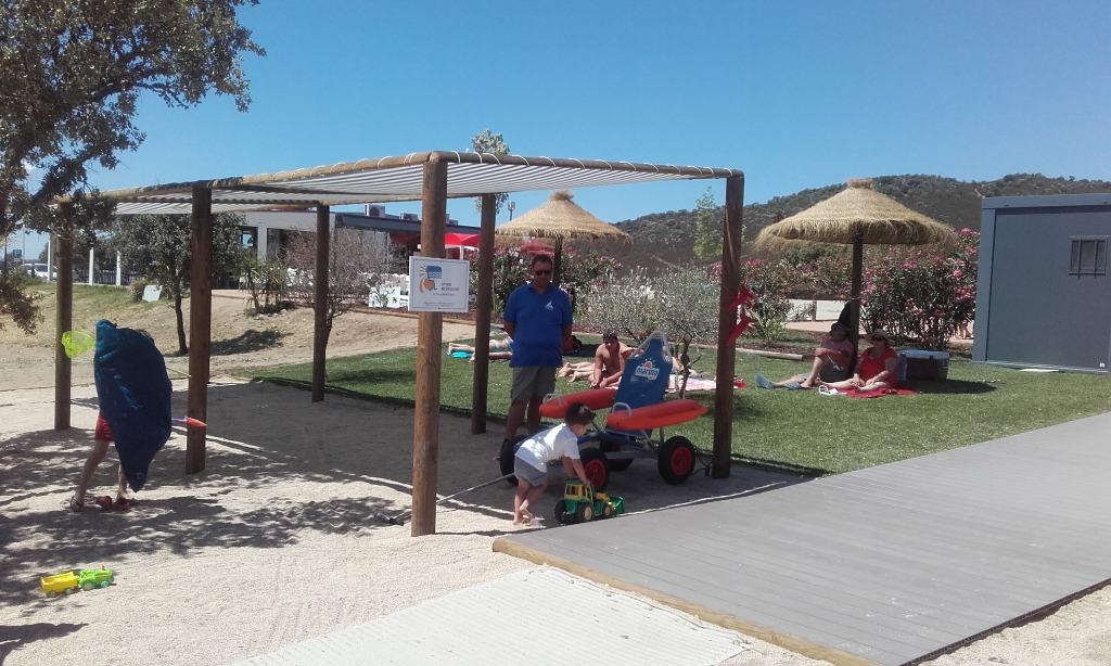 Cadeira Anfíbia da Praia de Monsaraz