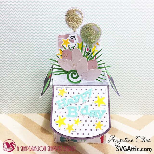 ScrappyScrappy: Happy Birthday Jodi with SVG Attic #scrappyscrappy #svgattic #birthday #svg #cutfile #papercraft #boxcard #card #cardmaking