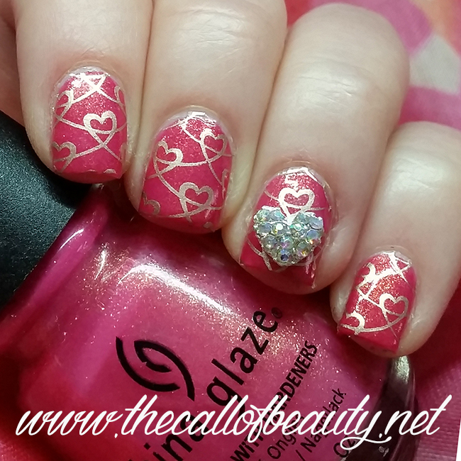 Lovely Hearts Manicure