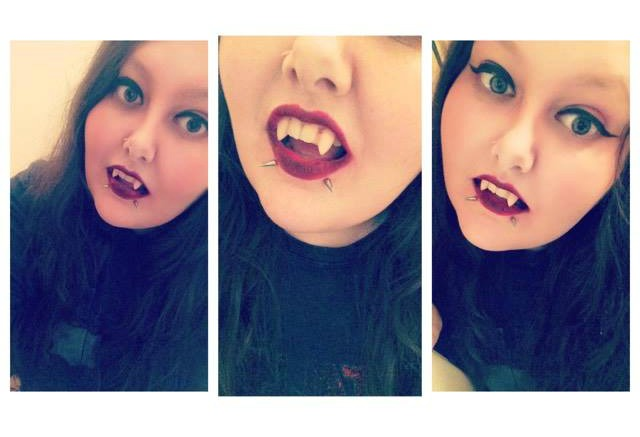 Custom Vampire Fangs by Scarecrow