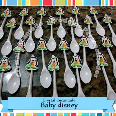 colherzinhas personalizadas baby disney