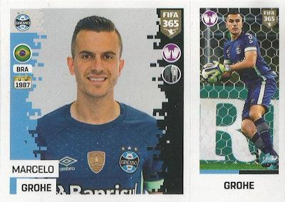Gremio Cicero Sticker 344 a//b Panini FIFA365 2019