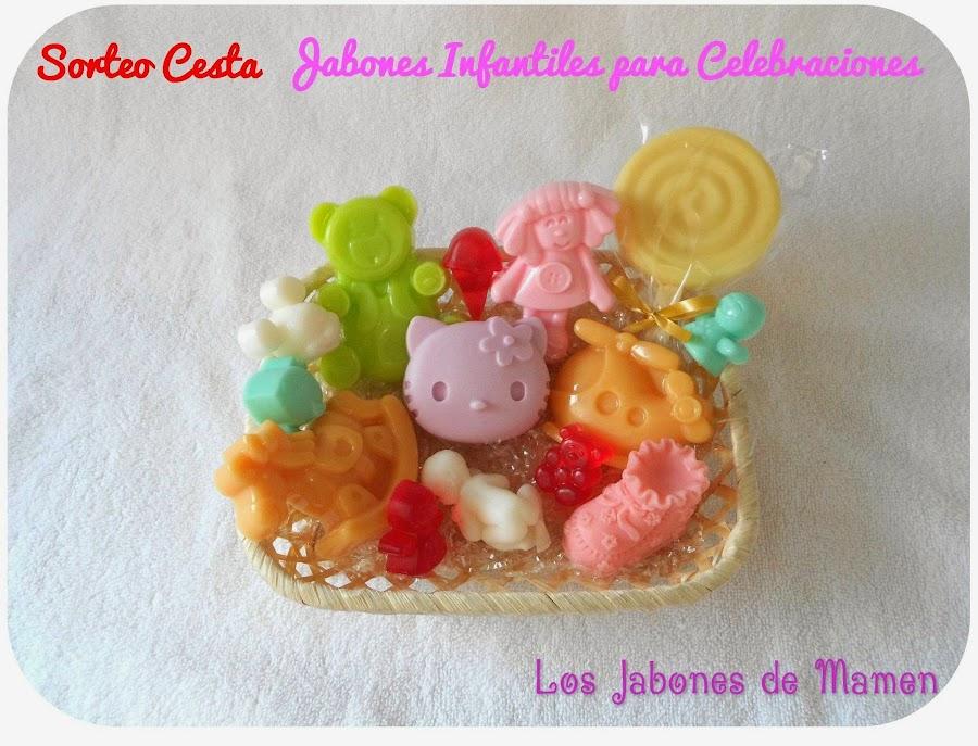 sorteo cesta jabones blog mama de noa