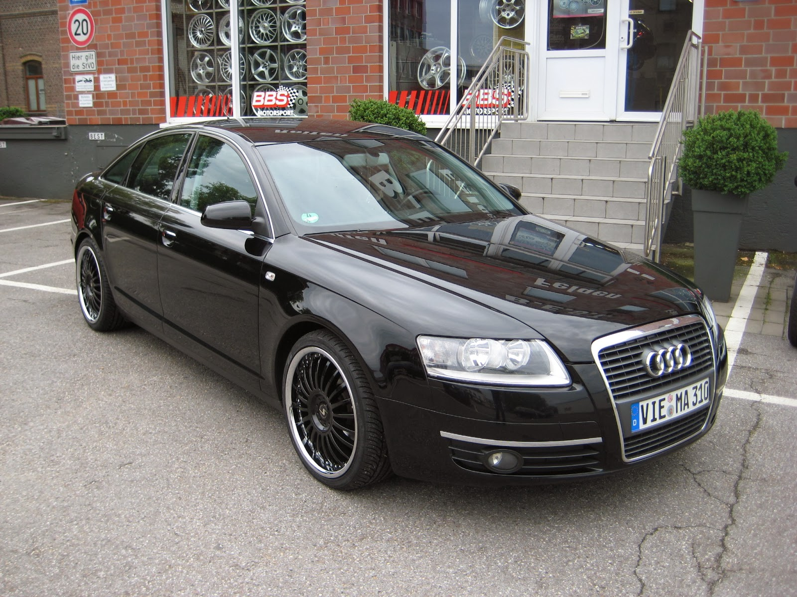 tuned rockets audi a6 tuning wallpapers. Black Bedroom Furniture Sets. Home Design Ideas