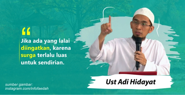 20 Kata Kata Bijak Ustadz Adi Hidayat Penuh Hikmah Juproni Quotes