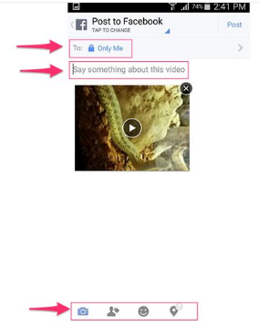 Facebook Video Upload Limit
