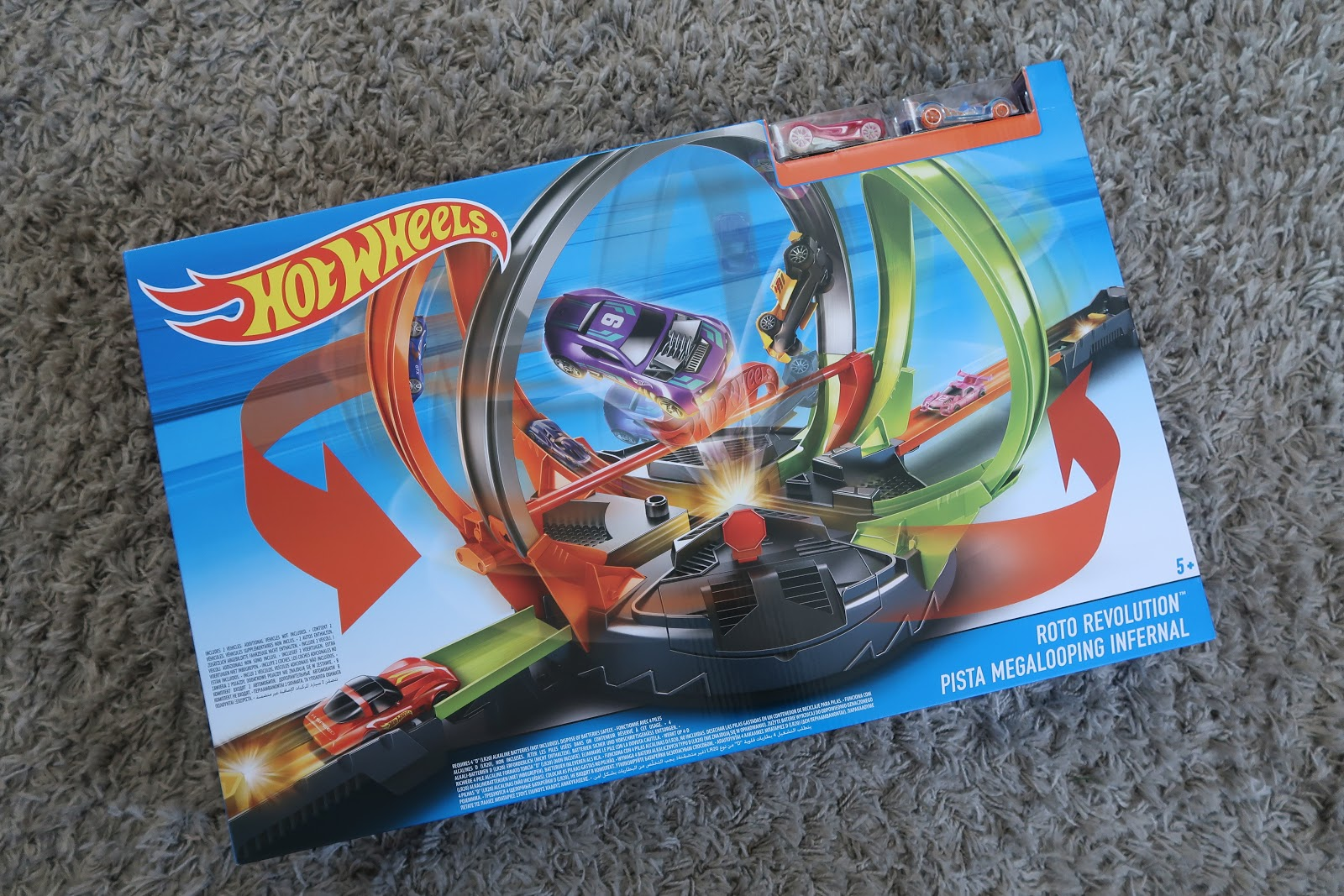 hot wheels roto revolution instructions