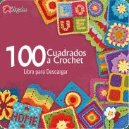 100 Cuadrados a Crochet
